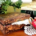 handkerchief box